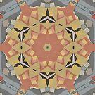 Lattice Bloom 4 Kalo Pattern Design by Jenny Meehan by JennyMeehan