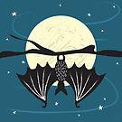 Bat in the Moonlight by jbott