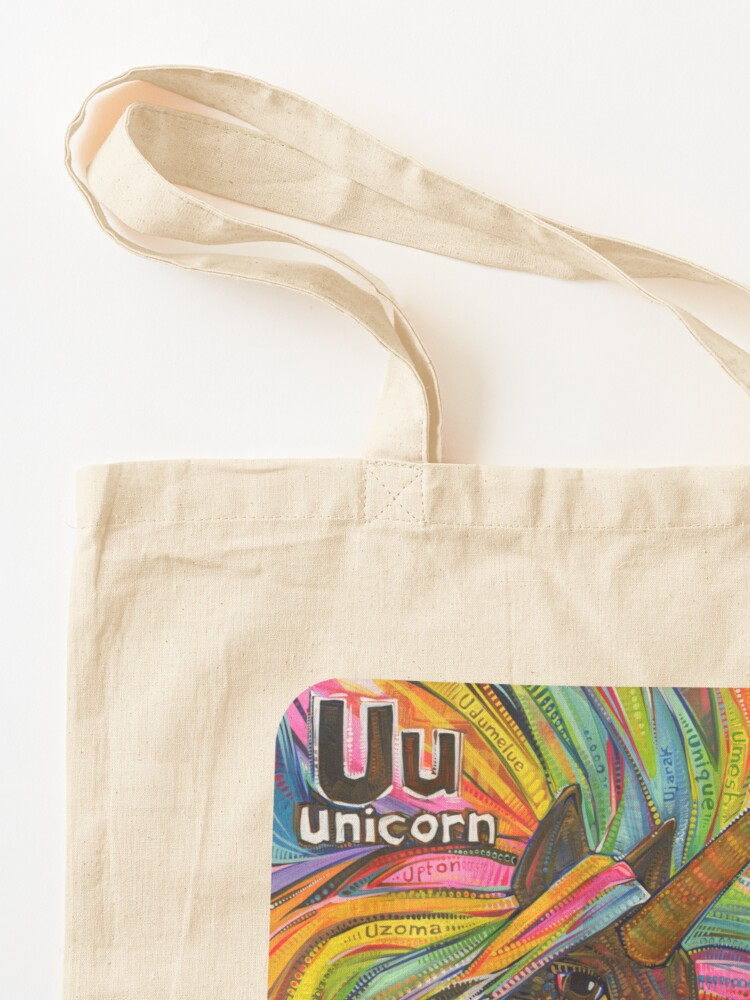 Alternate view of U Is for Unicorn - 2019 Tote Bag