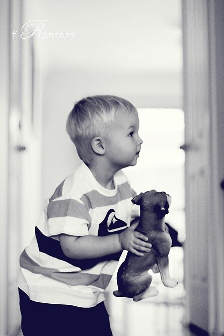 Daddy, the puppy pooled !  by fRantasy