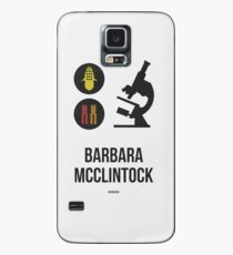 BARBARA MCCLINTOCK (Dark Lettering) - Clothing & Other Products Case/Skin for Samsung Galaxy