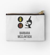 BARBARA MCCLINTOCK (Dark Lettering) - Clothing & Other Products Studio Pouch
