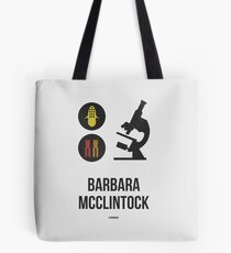 BARBARA MCCLINTOCK (Dark Lettering) - Clothing & Other Products Tote Bag