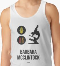 BARBARA MCCLINTOCK (Dark Lettering) - Clothing & Other Products Tank Top