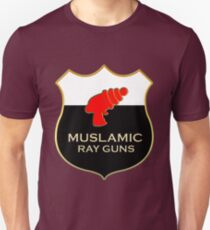 'Muslamic Ray Guns' Large Emblem T-Shirt
