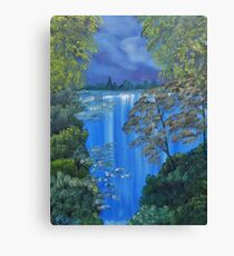 My imaginary waterfall Canvas Print