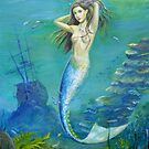Mermaid of the Deep by dashinvaine