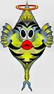 Angelfish Cartoon by plunder
