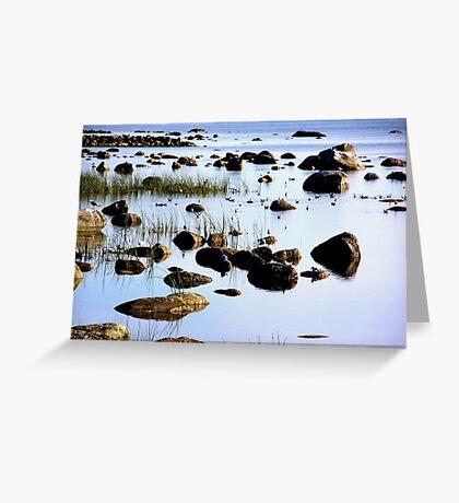 Rocky beach Greeting Card
