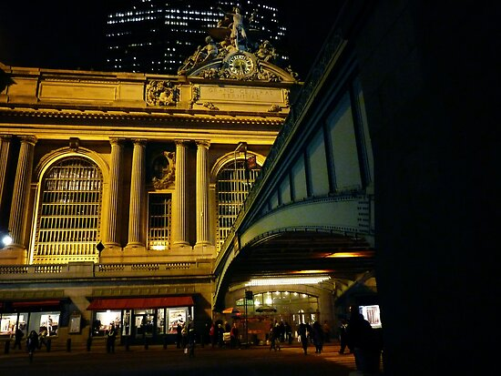 Grand Central Terminal New York City at Night by Vivienne Gucwa
