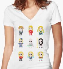 It's Britney! Women's Fitted V-Neck T-Shirt