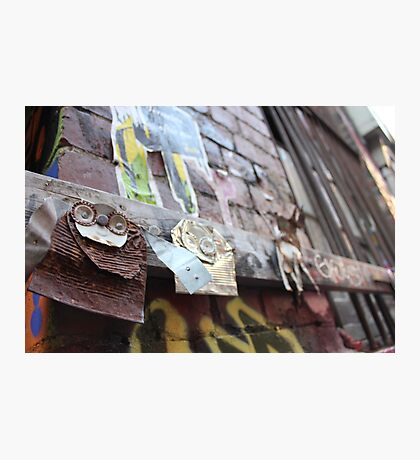 Junky's just Hanging Out Photographic Print