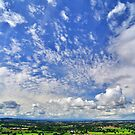 Summer Skies, Shropshire, England by Giles Clare