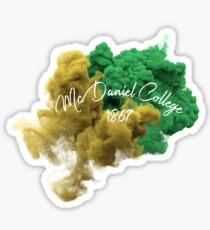 McDaniel College Sticker