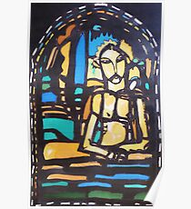 Silkpainting of stained glass window - where in US is it? Poster