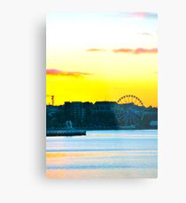 Eastern Sunset. Metal Print
