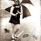 Umbrella Girl by oddoutlet