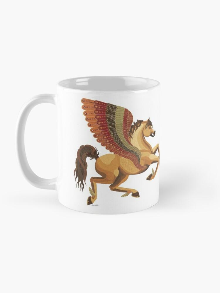 Alternate view of Pegasus from the Carousel Series Mug