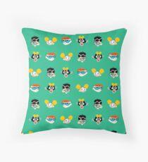 Dexter's Laboratory - pixel pattern  Floor Pillow