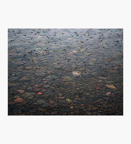 Harbor Drops Photographic Print