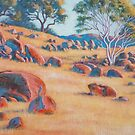 In High Camp, rural Victoria by Gregory Pastoll