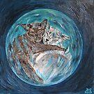 Bubblecats in Cyberspace by sandidobe