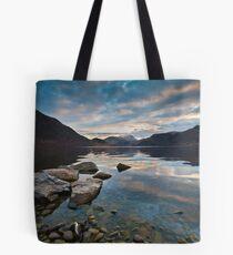 Ullswater at dusk Tote Bag
