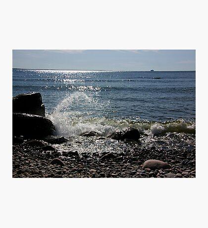Summer silverwhite Photographic Print