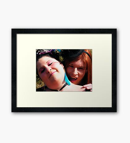 You Ready For This ?? Framed Print