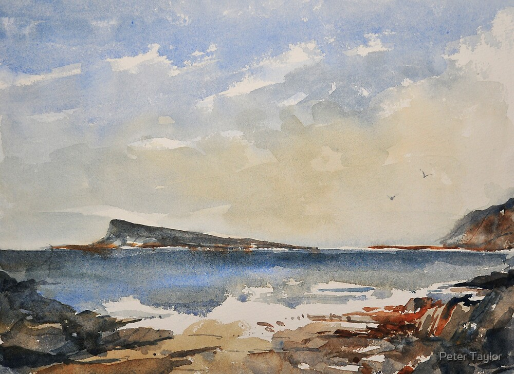Easdale island by Peter Lusby Taylor