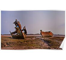 Marsh Wrecks Poster