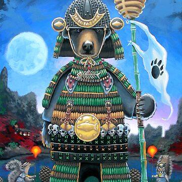 Samurai Bear by jrutland