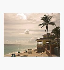 My Favourite Bar On The Beach Photographic Print