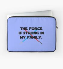 The Force is Strong Laptop Sleeve
