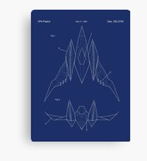 Star Fox Pilot Zero Canvas Print