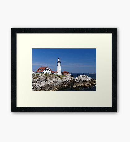 Portland Headlight - Maine Framed Print