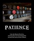Life's Lesson - Patience by Allen Lucas