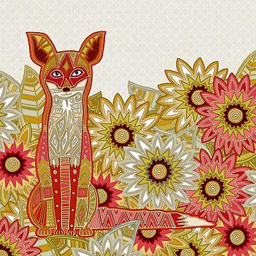 Garten Fuchs von scrummy