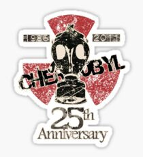 CHERNOBYL 25th ANNIVERSARY REMEMBRANCE  Sticker