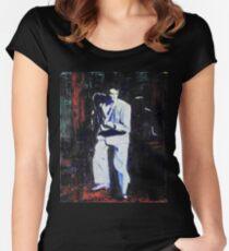 Portrait of David Byrne, Talking Heads - Stop Making Sense! Women's Fitted Scoop T-Shirt