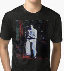 Portrait of David Byrne, Talking Heads - Stop Making Sense! Tri-blend T-Shirt