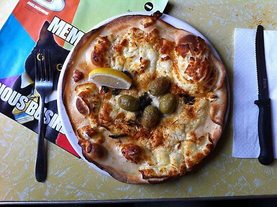 Pizza Il Greco by Team Bimbo