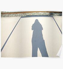 spain,trainstop bordering shadow pic Poster