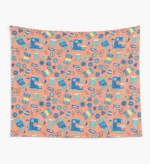Bits and Bobs Retro Sewing Wall Tapestry
