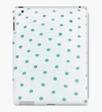 Blue/Green Dotsies iPad Case/Skin