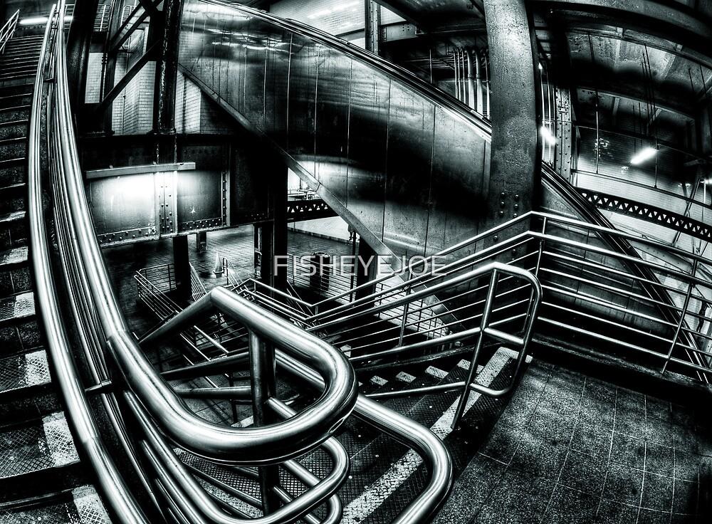 Getting Around... the Underground by FISHEYEJOE