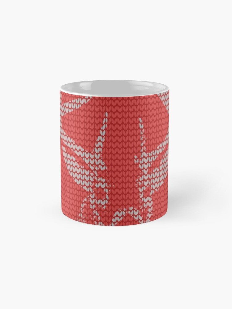 Alternate view of Knitted Reindeer Sweater Mug