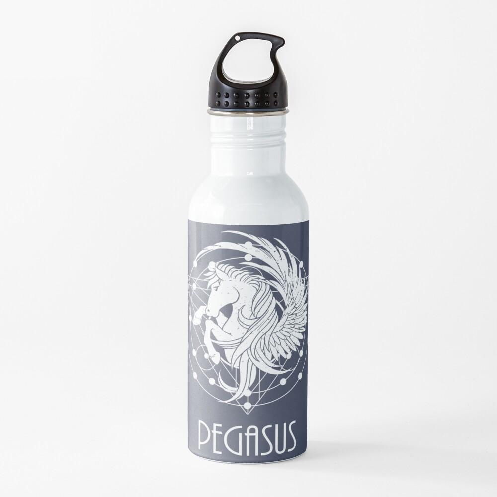White Pegasus  Water Bottle