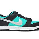 Nike Dunk Low Pro SB Tiffanys Diamonds by ayasoso