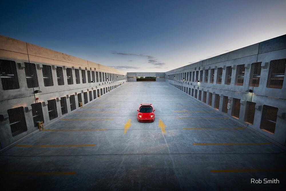 NSX at Dusk by Rob Smith